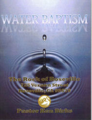 Download the Water Baptism Ebook for free