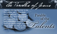Parable of the Talents - Kingdom Stewardship - Tithing