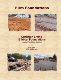 Firm Foundations Manual